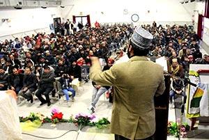 اٹلی: منہاج القرآن انٹرنیشنل کارپی میں عظیم الشان محفل میلاد