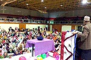 بادالونا: منہاج ویمن لیگ کے زیراہتمام نبی امن و رحمت کانفرنس
