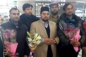 کوریا: ڈاکٹر حسین محی الدین کی جنوبی کوریا آمد، انچھن ائیرپورٹ پر پرتپاک استقبال
