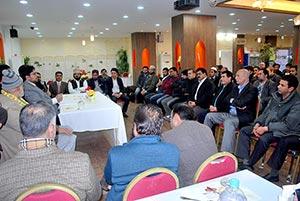جنوبی کوریا: ڈاکٹر حسین محی الدین کے اعزاز میں پاکستانی بزنس کمیونٹی کا عشائیہ