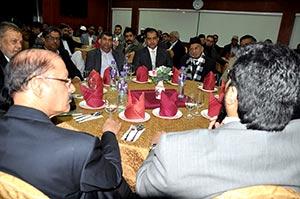پاکستان ایسوسی ایشن آف ہانگ کانگ کا ڈاکٹر حسین محی الدین کے اعزاز میں عشائیہ