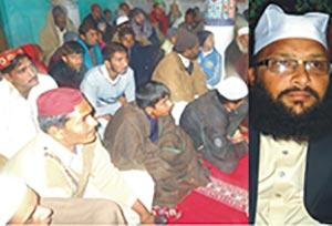 ملتان: تحریک منہاج القرآن کے زیراہتمام کوٹ عباس شہید میں محفل میلاد