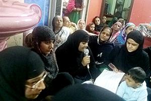 انڈیا: منہاج  القرآن ویمن لیگ کی محافل میلاد