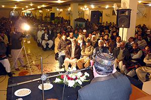 گوجرانوالہ: تحریک منہاج القرآن کی سالانہ محفلِ میلادِ مصطفےٰ (ص)