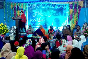 انڈیا: منہاج القرآن ویمن لیگ کی گیارہویں شریف کی محفل