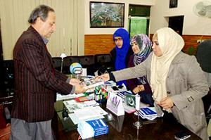 چارسدہ: منہاج القرآن ویمن لیگ کے وفد کا باچا خان یونیورسٹی کا دورہ
