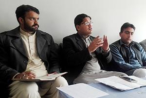 جہلم: منہاج یوتھ لیگ کے مرکزی سیکرٹری دعوت کا تنظیمی دورہ، تحصیل جہلم اور پنڈدادنخان کی تنظیمِ نو
