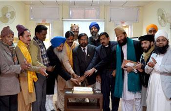 Faith leaders celebrate Dr Tahir-ul-Qadri's birthday