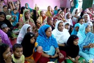 انڈیا: منہاج القرآن ویمن لیگ کولکتہ کی خردہ میں محفلِ نعت
