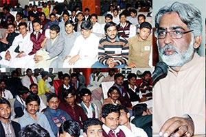 وہاڑی: بورے والا میں مصطفوی سٹوڈنٹ موومنٹ کے نومنتخب عہدیداران کی حلف برداری کی تقریب