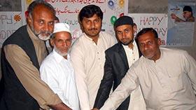 گوجرہ: منہاج القران اسلامک سنٹر میں قائد ڈے کی تقریب