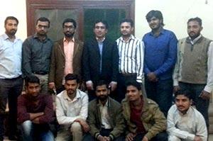 منہاج یوتھ لیگ کے سیکرٹری جنرل کا سندھ کے مختلف شہروں کا دورہ