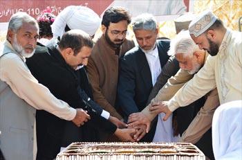 ڈاکٹر طاہرالقادری کے 65 ویں یوم ولادت کے حوالے سے یونین کونسل 105 میں ''سفیر امن'' کے عنوان سے پروقار تقریب