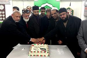 یوکے: منہاج القرآن ساؤتھ آف انگلینڈ کا ڈاکٹر حسن محی الدین کے اعزاز میں استقبالیہ