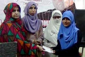کراچی: منہاج شریعہ کالج فار ویمن میں قائد ڈے کی تقریب
