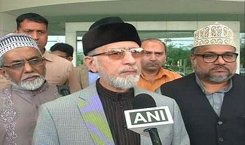 Pakistan & India should follow principle of 'Live and Let Live'- Dr Muhammad Tahir-ul-Qadri