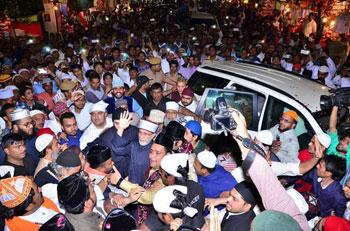 Ajmer (India): Shaykh-ul-Islam Dr Muhammad Tahir-ul-Qadri visits shrine of Hazrat Moin-ud-Din Chishti (R.A)