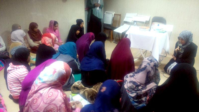 سپین: منہاج القرآن ویمن لیگ کی تین روزہ تربیتی ورکشاپ