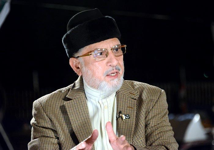دہشتگردوں کے سہولت کارکرپٹ حکمرانوں کے خلاف آپریشن ضرب غضب شروع کیا جائے، ڈاکٹر طاہرالقادری