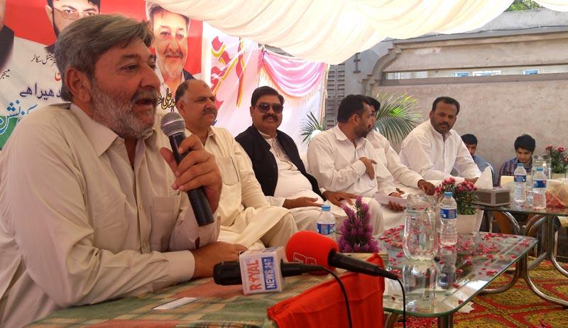 چنیوٹ: پاکستان عوامی تحریک کا ورکرز کنونشن