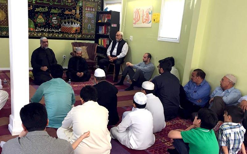 امریکہ: منہاج القرآن ورجینیا کے اورنگ زیب کے ایصال ثواب کے لیے قرآن خوانی