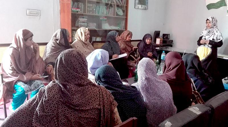 منہاج القرآن ویمن لیگ کے مختلف اضلاع اور تحصیلوں میں تنظیمی و تربیتی کنونشنز