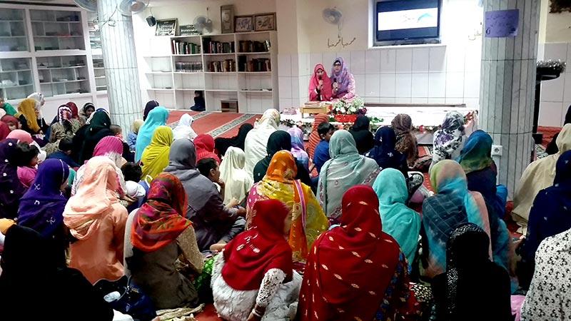 سپین: منہاج ویمن لیگ کی سالانہ محفلِ معراج النبی (ص)
