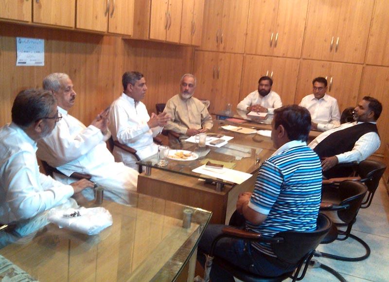 سیالکوٹ: پاکستان عوامی تحریک کے ڈپٹی چیف آرگنائزر کا ضلع سیالکوٹ کا دورہ