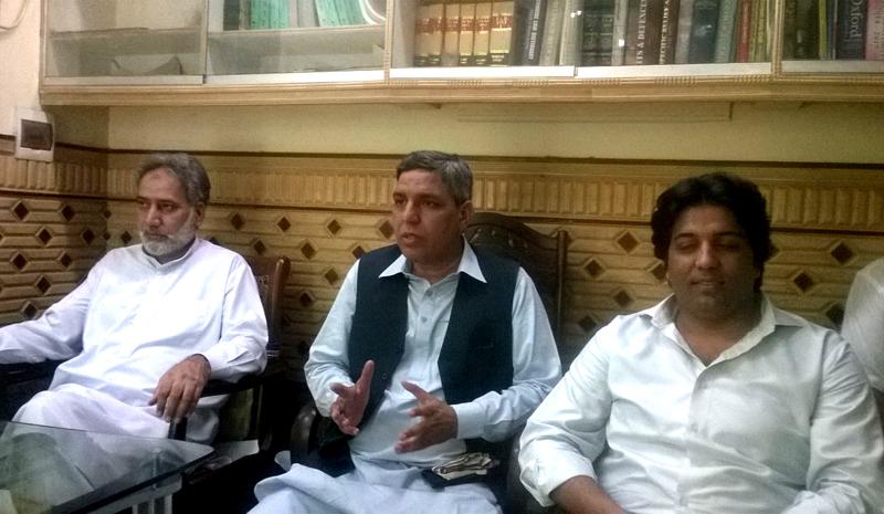 سیالکوٹ: پاکستان عوامی تحریک لائرز ونگ کا قیام