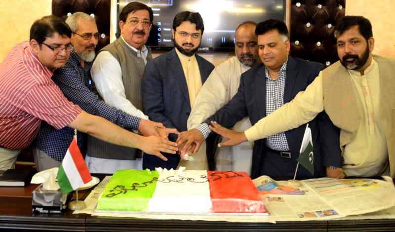 پاکستان عوامی تحریک کے 27 ویں یوم تاسیس کی تقریب