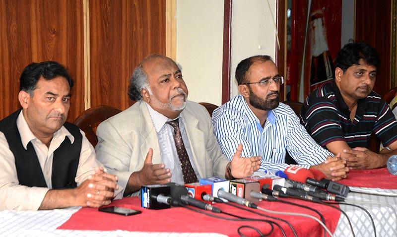 اسلام آباد: پاکستان عوامی تحریک کے رہنماؤں کی پریس کانفرنس