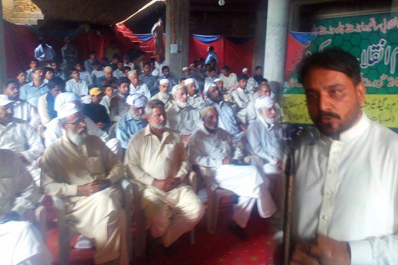 دولتالہ: پاکستان عوامی تحریک پی پی 4 کے زیراہتمام عظیم الشان عزم انقلاب ورکرز کنونشن