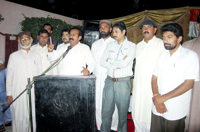اوکاڑہ: پاکستان عوامی تحریک حویلی لکھا کی تنظیم سازی، پیر رشید چشتی صدر منتخب