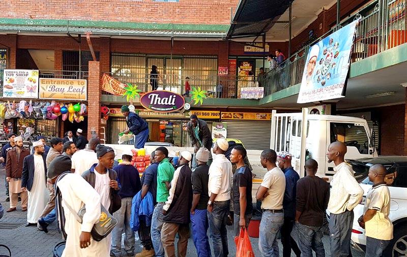 جنوبی افریقہ: منہاج ویلفیئر فاؤنڈیشن کے زیراہتمام رمضان پیکج کی تقسیم