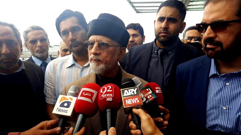 سربراہ عوامی تحریک 15 جون کو لاہور پہنچیں گے، پرتپاک استقبال کی تیاریاں مکمل