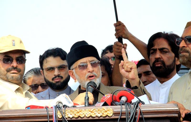 Model Town case be heard in military court: Dr Tahir-ul-Qadri