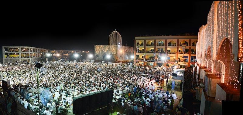 منہاج القرآن کے شہر اعتکاف کی تیاریاں مکمل، آج 20 ہزار سے زائد لوگ اعتکاف بیٹھیں گے