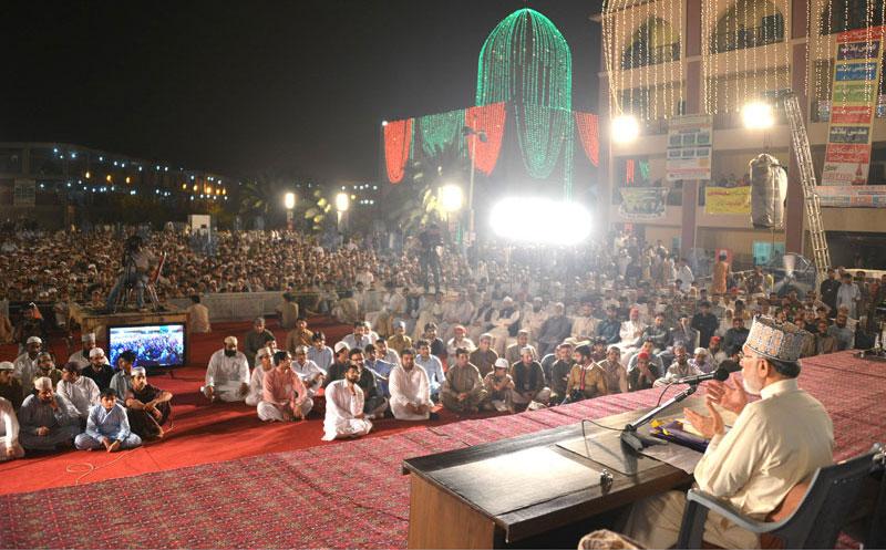 'Takfeeriyat' biggest challenge facing Muslim world: Dr Tahir-ul-Qadri