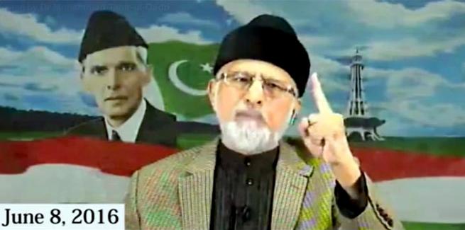 سماء ٹی وی کے اینکر شہزاد اقبال کو ڈاکٹر طاہرالقادری کے انٹرویو کے مکمل جوابات