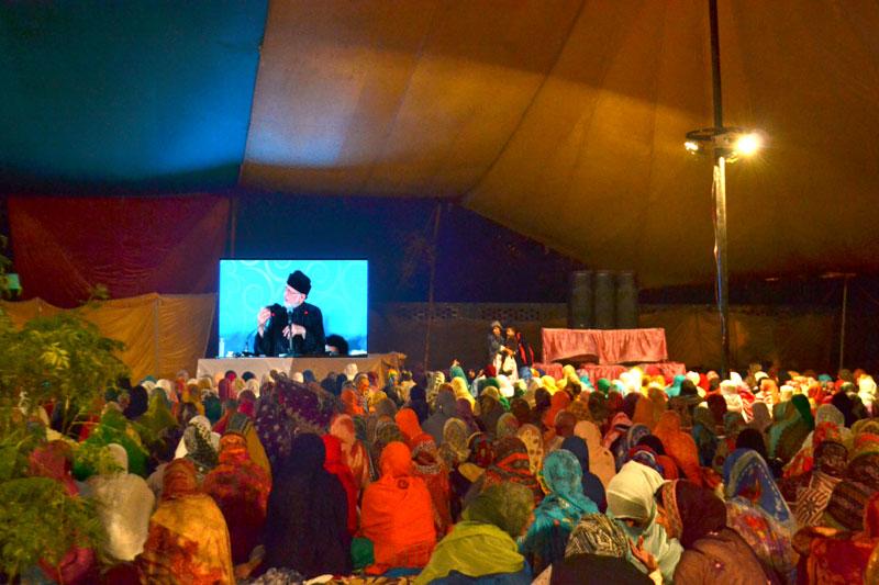 Women Training Itikaf 2016: Day 3