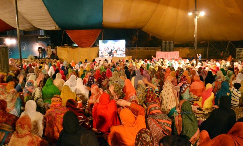 خواتین کے شہر اعتکاف کا چوتھا روز
