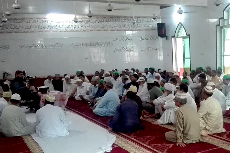 جہلم: تحریک منہاج القرآن کوٹلہ فقیر میں 'درس عرفان القرآن' کا انعقاد