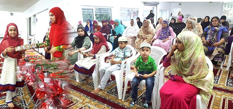 ڈنمارک: منہاج القرآن ویمن لیگ کے زیراہتمام مسنون اعتکاف