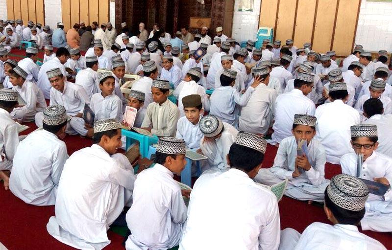 فرید ملت ڈاکٹر فریدالدین قادری کے 42ویں یومِ وصال پر منہاج انسٹیٹیوٹ آف قرات و تحفیظ القرآن میں قرآن خوانی