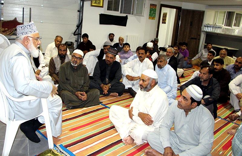 فرانس: منہاج القرآن انٹرنیشنل کی قائم کردہ 'مجلسِ امن' کا افتتاحی اجلاس
