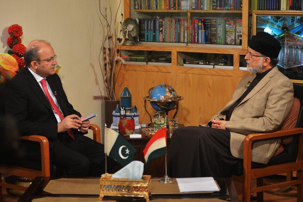 Dr Tahir-ul-Qadri's Interview with Nadeem Malik on Samaa News