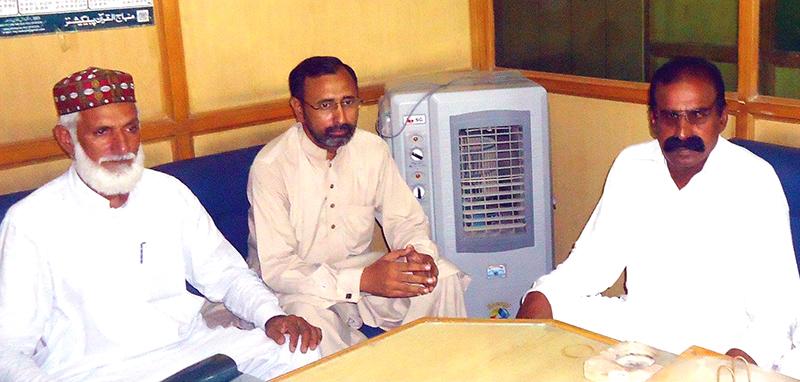 ملتان: عوامی تحریک جنوبی پنجاب کے ترجمان کی خانیوال کے وفد سے ملاقات