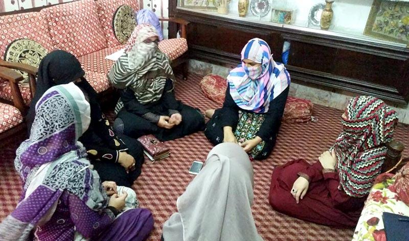 جہلم: منہاج القرآن ویمن لیگ کی صدر کا یونین کونسل محمدی چوک کا دورہ