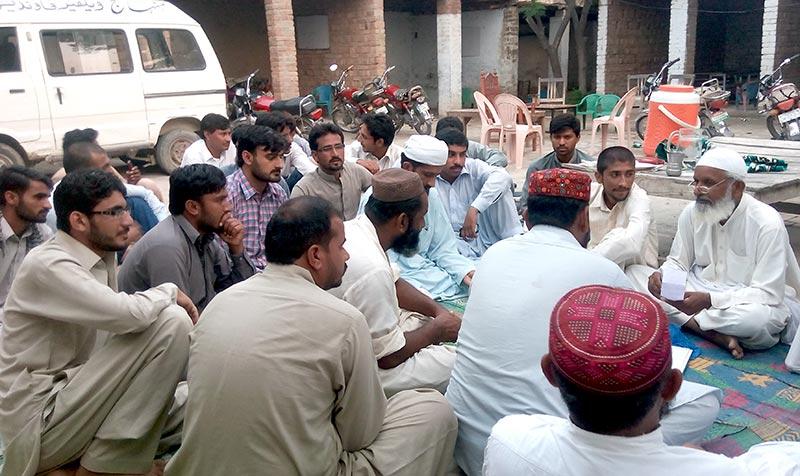 لیہ: پاکستان عوامی تحریک اور تحریک منہاج القرآن مشترکہ اجلاس