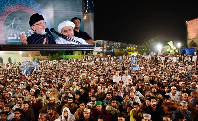 تحریک منہاج القرآن کے زیراہتمام 25 واں سالانہ شہر اعتکاف 2016ء